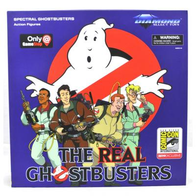 The Real Ghostbusters Spectral Ghostbusters Action Figures Summer Convention 2019 Only at GameStop