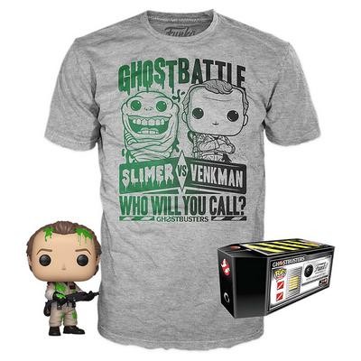 POP! and Tee: Ghostbusters Ghost Battle Summer Convention 2019 Only at GameStop