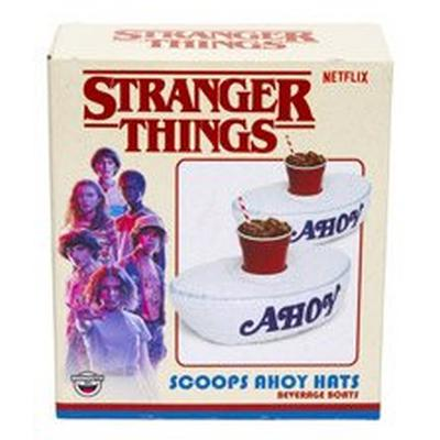 Stranger Thing Scoops Ahoy Hats Beverage Boats