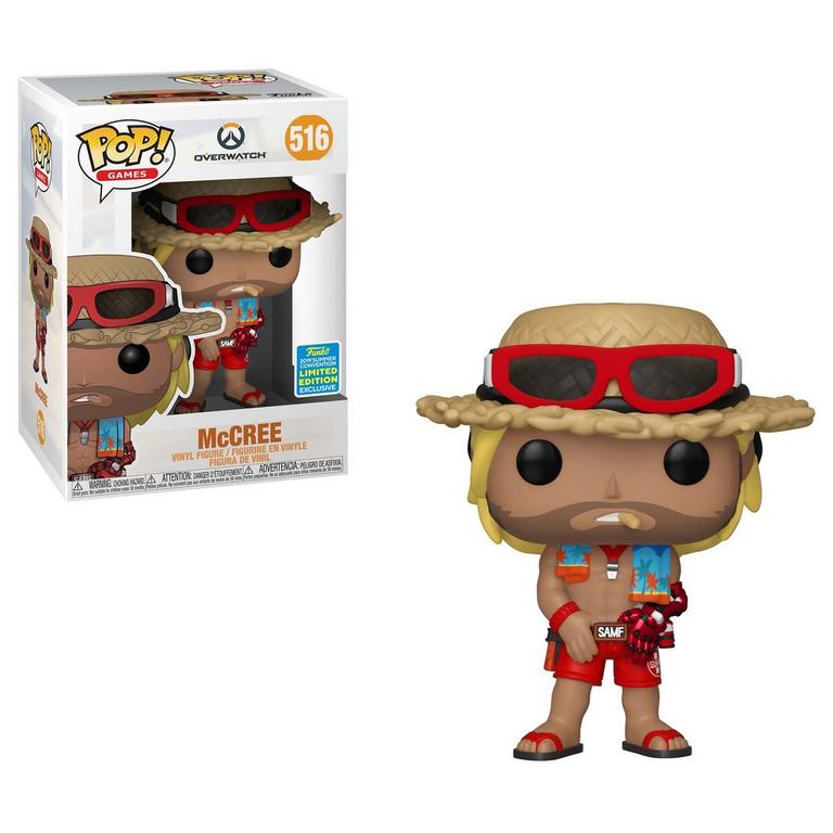 POP! Games: Overwatch McCree Summer Skin Summer Convention 2019 Only at GameStop
