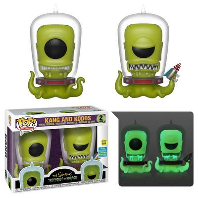 POP! Television: The Simpsons Kang and Kodos 2 Pack Summer Convention 2019 Only at GameStop