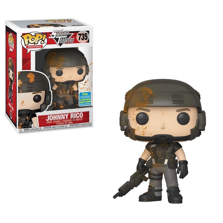 POP! Movies: Starship Troopers Johnny Rico Summer Convention 2019 Only at GameStop