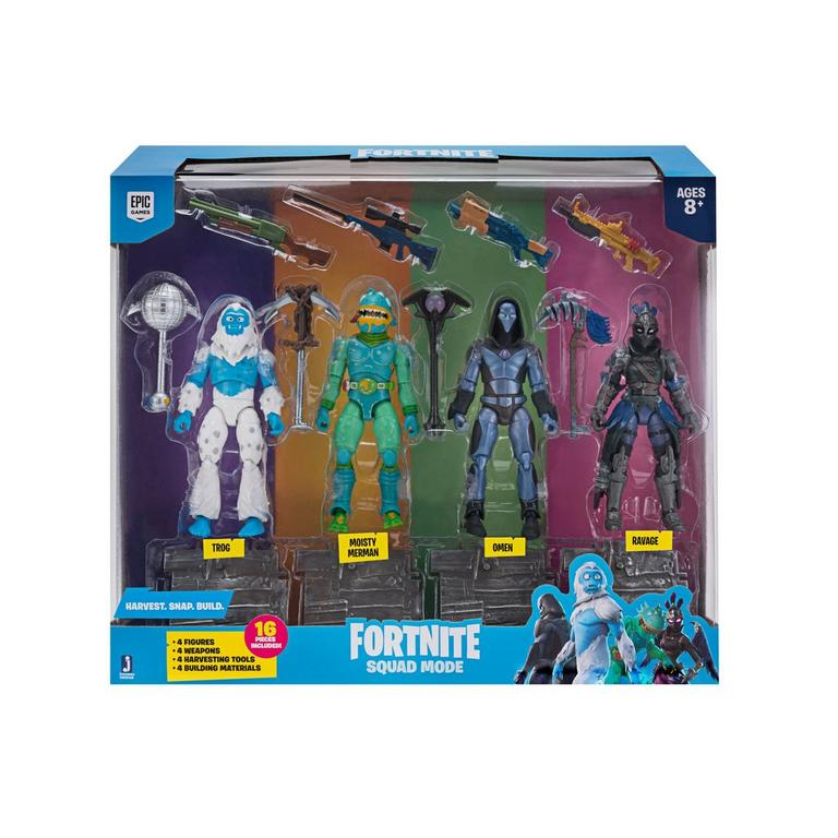 Fortnite Squad Mode Series 2 Action Figure 4 Pack