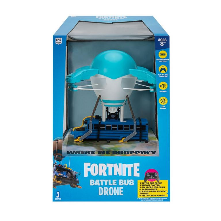 Fortnite Battle Bus Drone