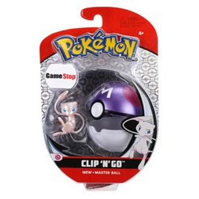 Pokemon Clip 'N' Go Mew Master Ball Summer Convention Only at GameStop