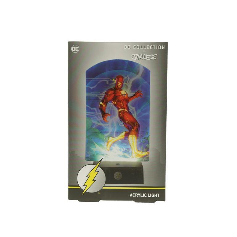 DC Comics The Flash by Jim Lee Acrylic Light