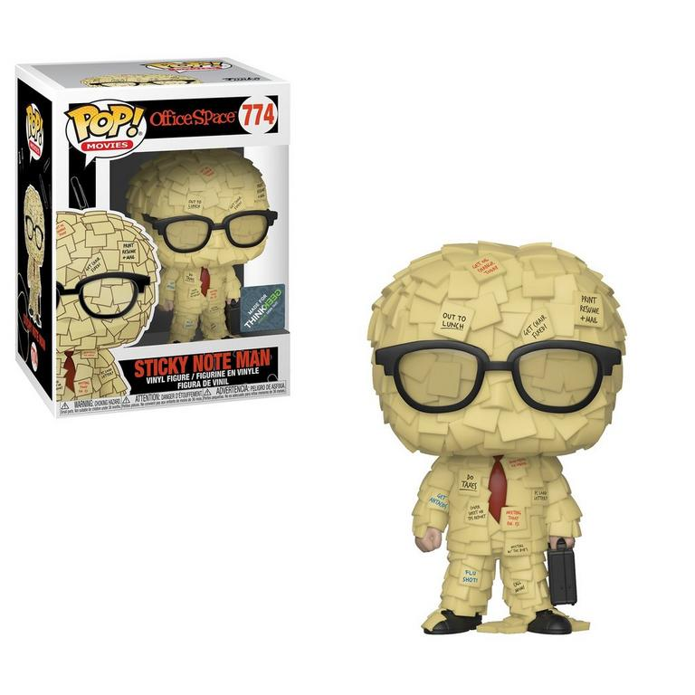 POP! Movies: Office Space Sticky Note Man Summer Convention 2019