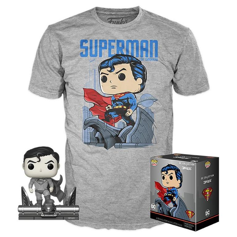 POP! and Tee: Superman by Jim Lee T-Shirt