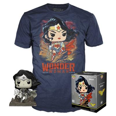 POP! and Tee: Wonder Woman by Jim Lee T-Shirt
