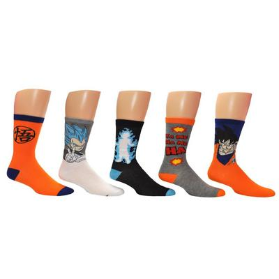Dragon Ball Z Crew Socks 5 Pack