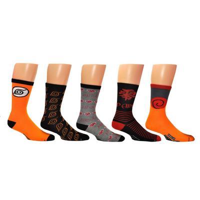 Naruto Crew Socks 5 Pack