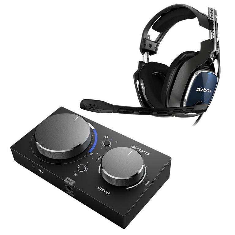 PlayStation 4 A40 Tournament Ready Wired Headset and PRO Gen 2 MixAmp
