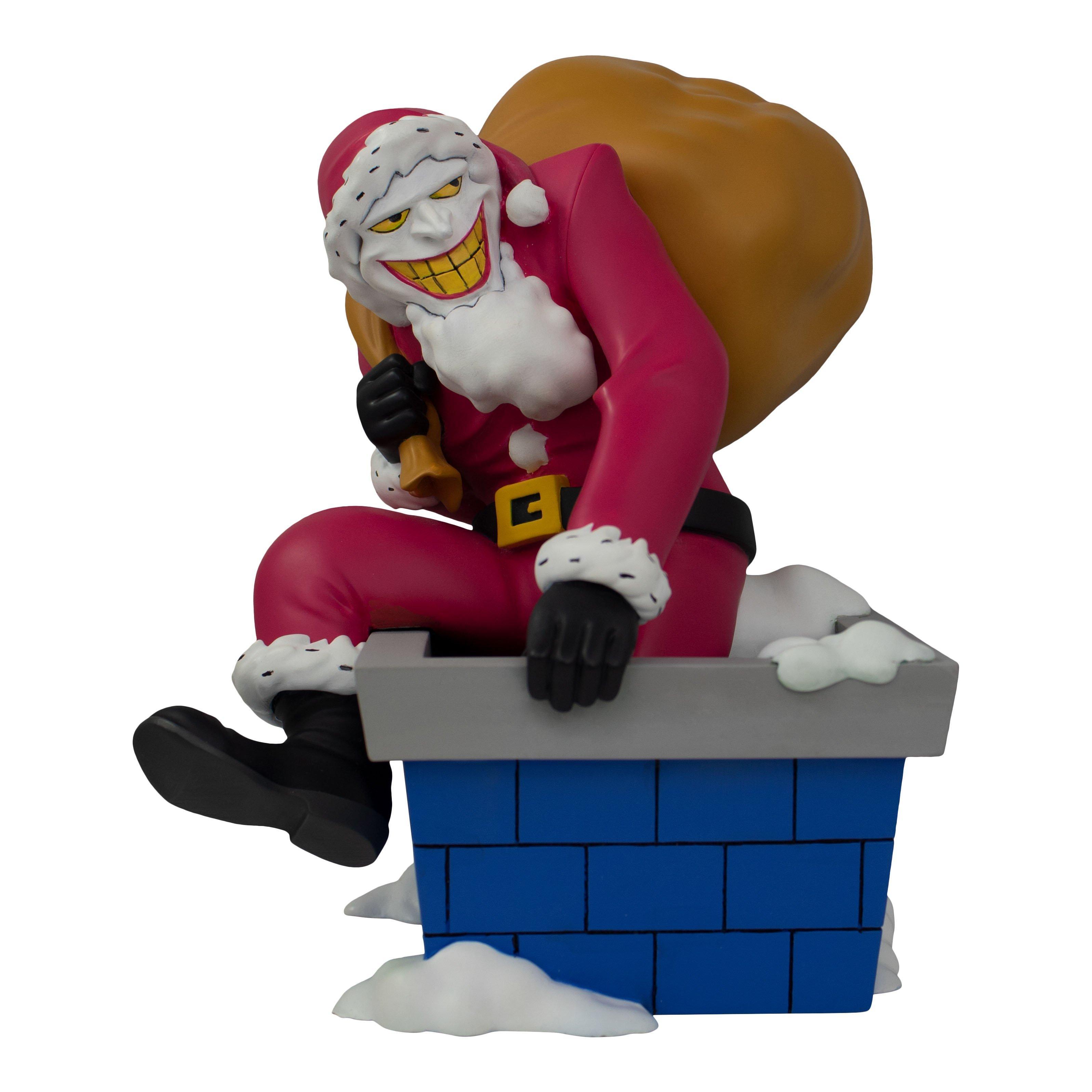 Dc Comics Batman The Animated Series Santa Joker Statue Only At Gamestop Gamestop