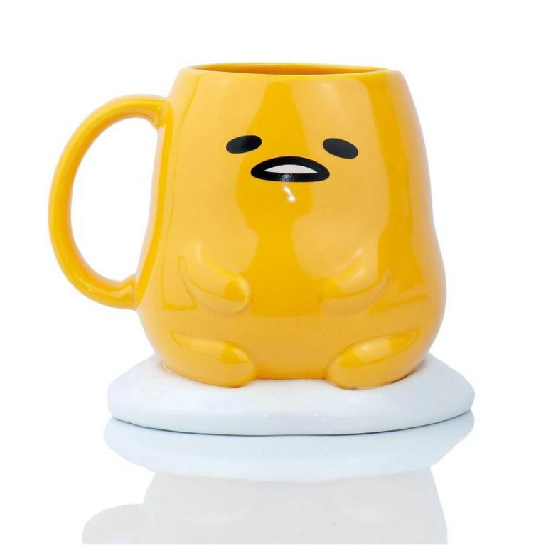 Gudetama The Lazy Egg Sculpted Mug
