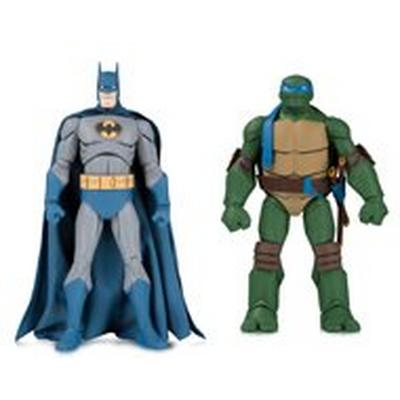 Batman and Leonardo Action Figure 2 Pack Summer Convention 2019 Only at GameStop
