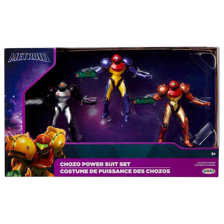 Metroid Chozo Power Suit Set Summer Convention 2019 Only at GameStop