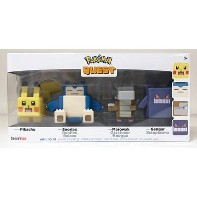 Pokemon Quest Figure 4 Pack Only at GameStop