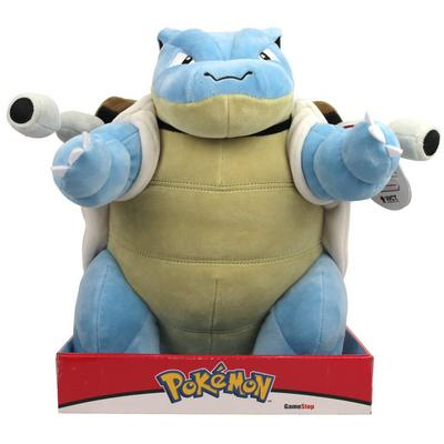 Pokemon Blastoise Plush Only at GameStop