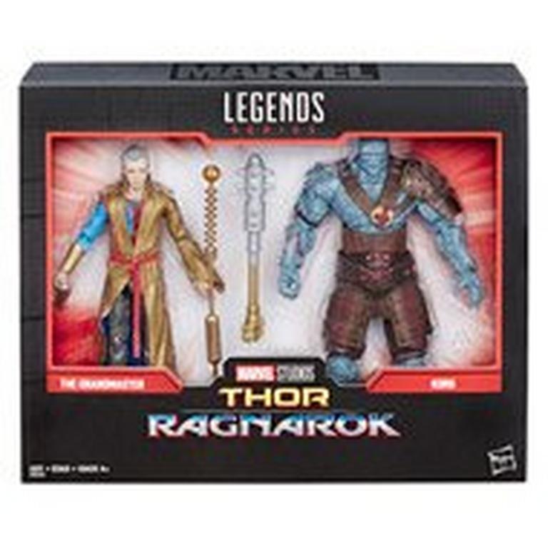 Marvel Legends Series 80th Anniversary Thor: Ragnarok Grandmaster and Korg Action Figure 2 Pack