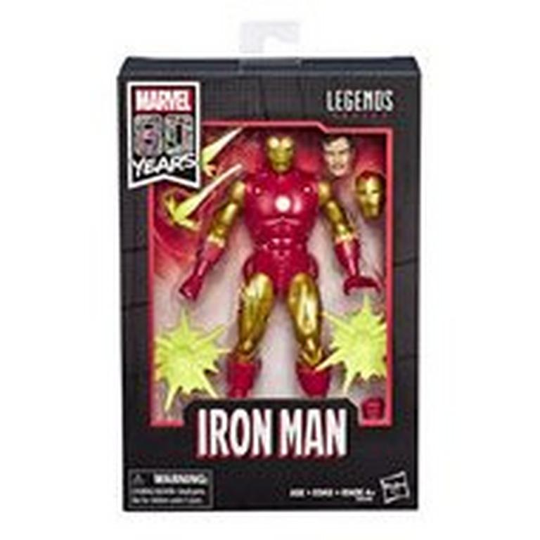Marvel Legends 80th Anniversary Series Iron Man Figure