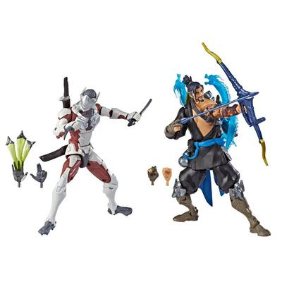 Overwatch Hanzo and Genji Ultimate Series Collectible Action Figure 2 Pack