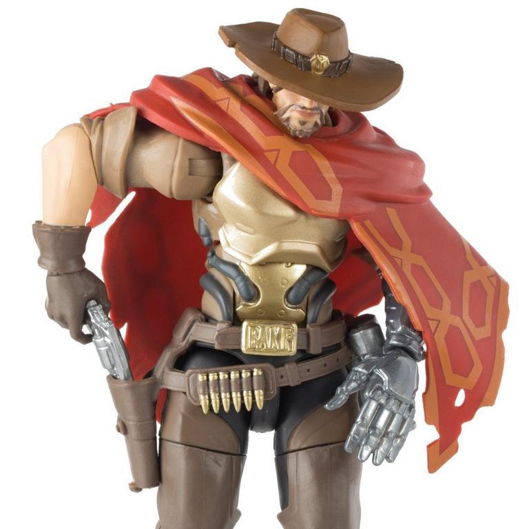 "Hasbro Overwatch Ultimates McCree Action Figure 6/"""