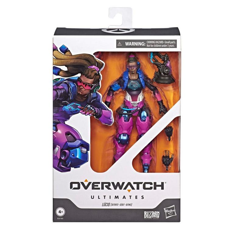Overwatch Ultimates: Bitrate Lucio Figure Summer Convention 2019 Only at GameStop