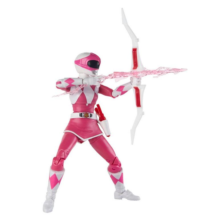 Mighty Morphin Power Rangers Lightning Collection Pink Ranger Figure