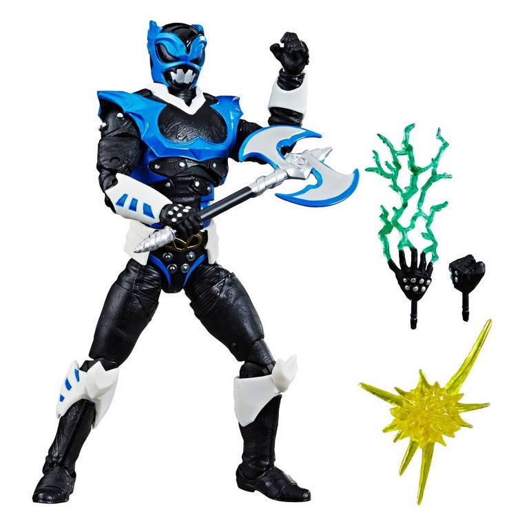 Power Rangers Lightning Collection In Space Psycho Blue Ranger Action Figure Only at GameStop