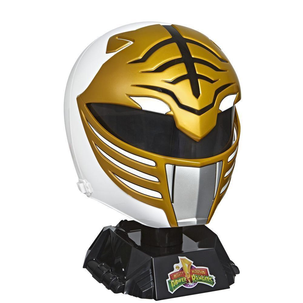 Mighty Morphin Power Rangers Lightning Collection White Ranger Helmet    GameStop