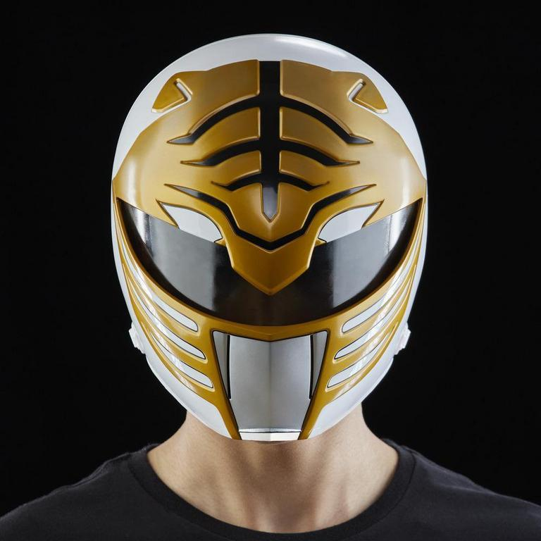 Mighty Morphin Power Rangers Lightning Collection White Ranger Helmet
