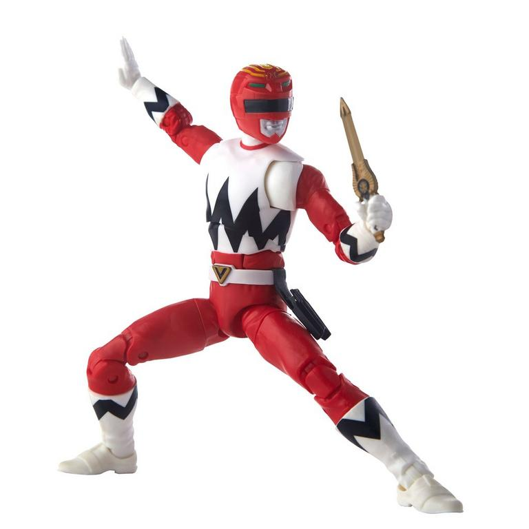 Power Rangers Lightning Collection Lost Galaxy Red Ranger vs In Space Psycho Red Ranger Figure Set