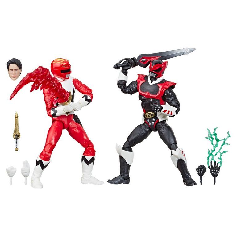 Power Rangers Lost Galaxy Red Ranger and In Space Psycho Red Ranger Lightning Collection Figure Set