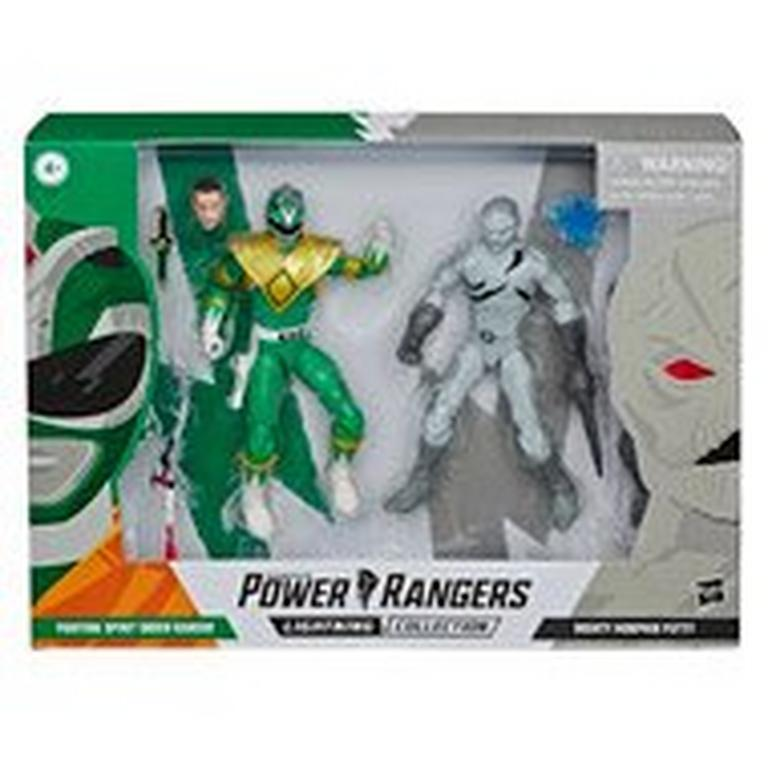 Mighty Morphin Power Rangers Green Ranger and Putty Patroller Lightning Collection Action Figure Set