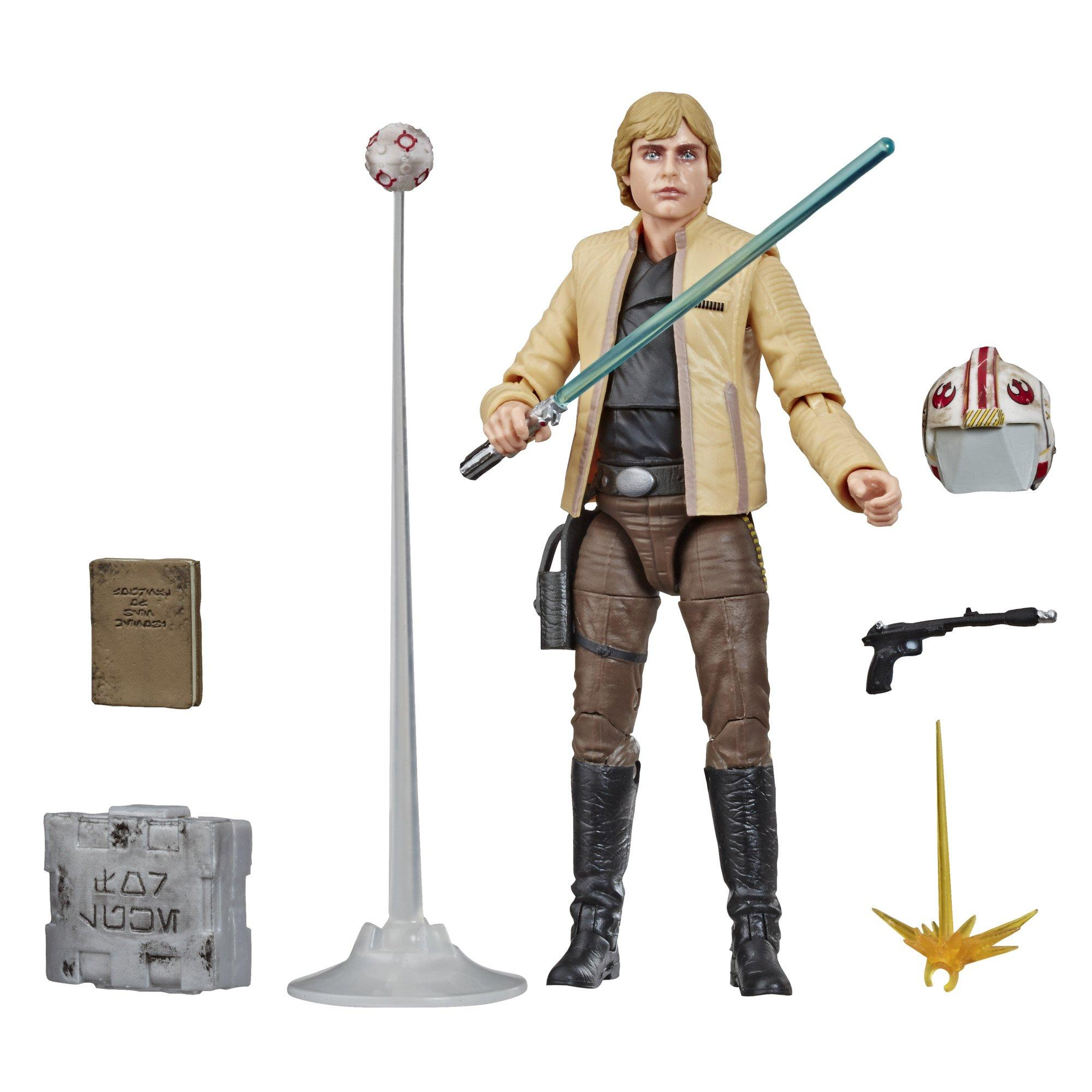 Hasbro Star Wars Luke Skywalker With Exclusive Collector Coin Action Figure for sale online