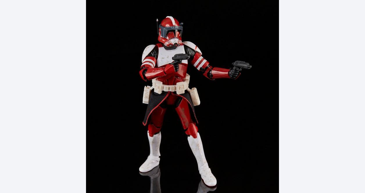 Star Wars: The Clone Wars Clone Commander Fox The Black Series Figure