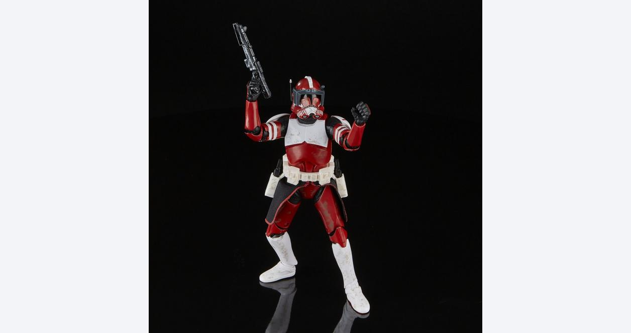 Star Wars: The Clone Wars Clone Commander Fox The Black Series Action Figure