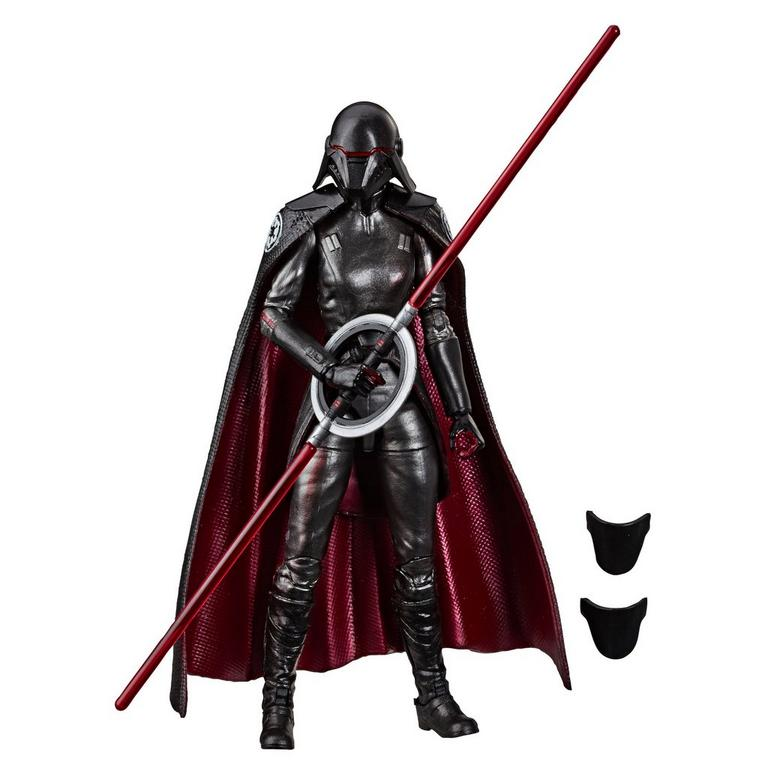 Star Wars Jedi: Fallen Order Second Sister Inquisitor Carbonized Graphite The Black Series Figure