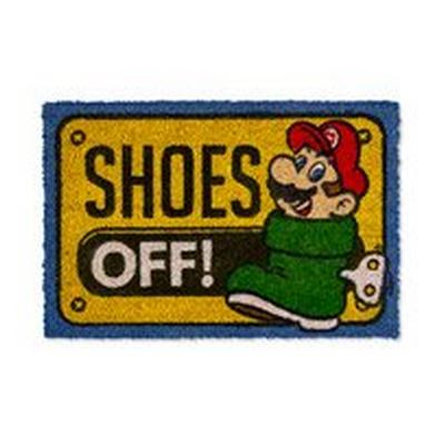 Super Mario Bros. Shoes Off! Doormat