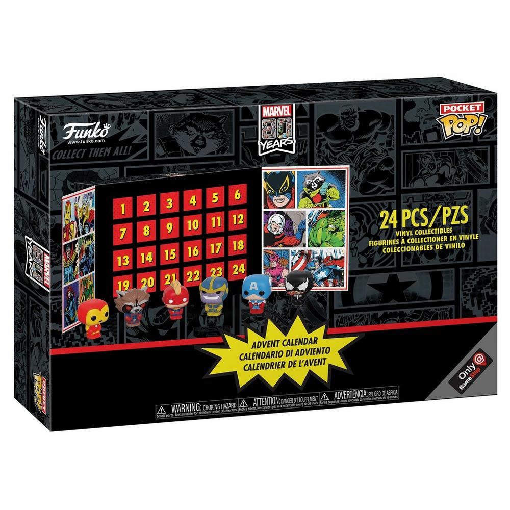 POP! Advent Calendar: Marvel 80th Only at GameStop