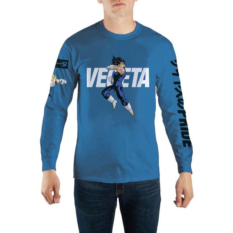Dragon Ball Z Vegeta Character Long Sleeve T-Shirt