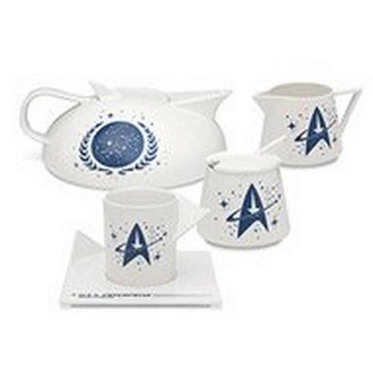 Star Trek Captain's Tea Set