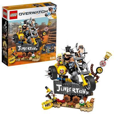 LEGO Overwatch Junkrat and Roadhog Set Summer Convention 2019