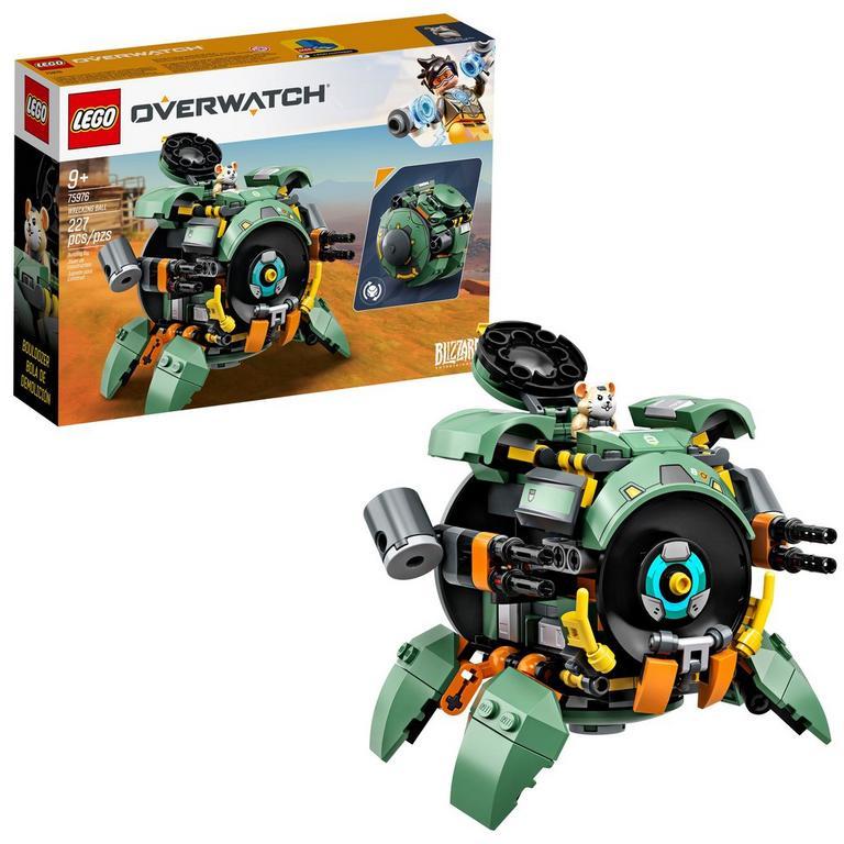 LEGO Overwatch Wrecking Ball Set Summer Convention 2019