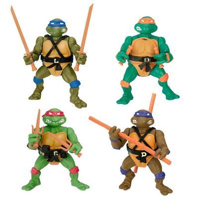 Teenage Mutant Ninja Turtles Classic 1988 Action Figure 4 Pack