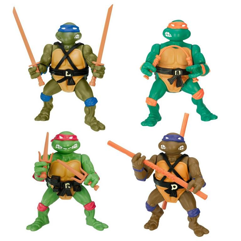 Teenage Mutant Ninja Turtles Classic 1988 Action Figure 4 Pack