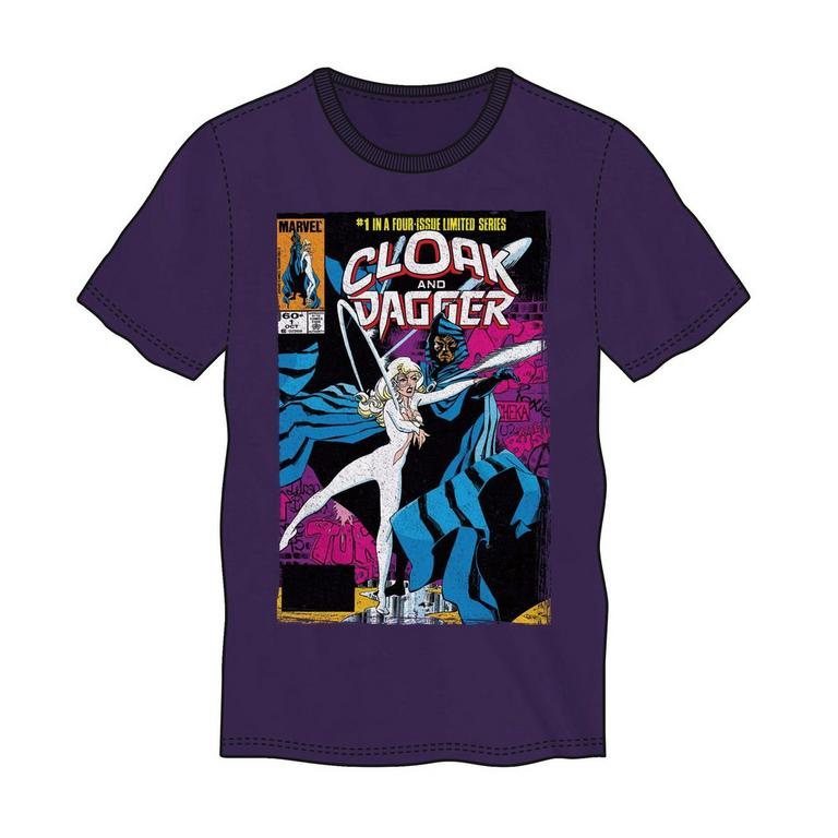 Cloak and Dagger Comic Style T-Shirt