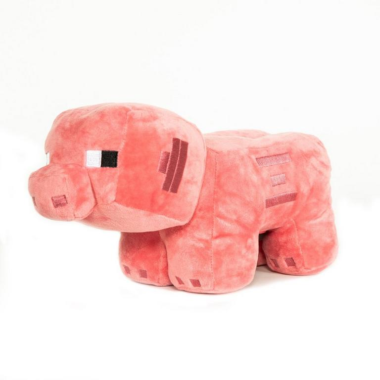 Minecraft Piggy Plush Bank