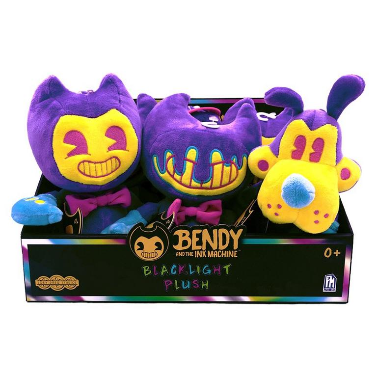 Bendy and the Ink Machine Black Light Plush (Assortment)
