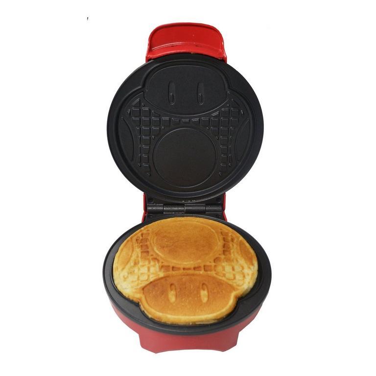 Super Mario Mushroom Waffle Maker Gamestop